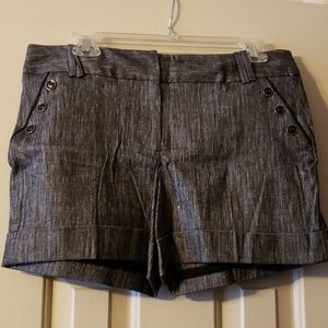 NWT WHBM Black Shorts